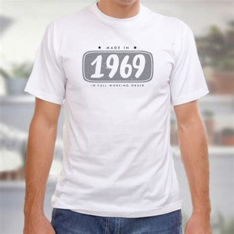 50th Birthday Personalised Mens T shirt   The Personalised