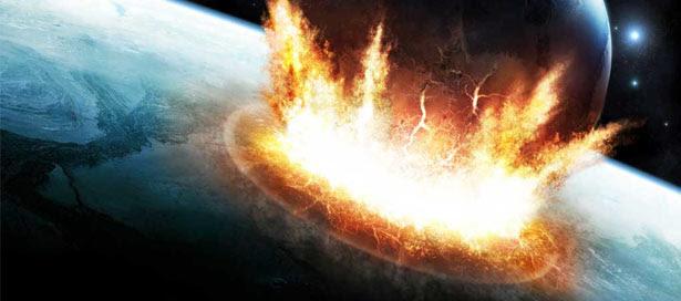 Asteroide com força