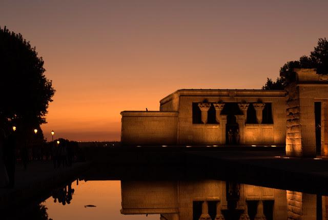 Madrid sunset (Templo de Debod). SOOC