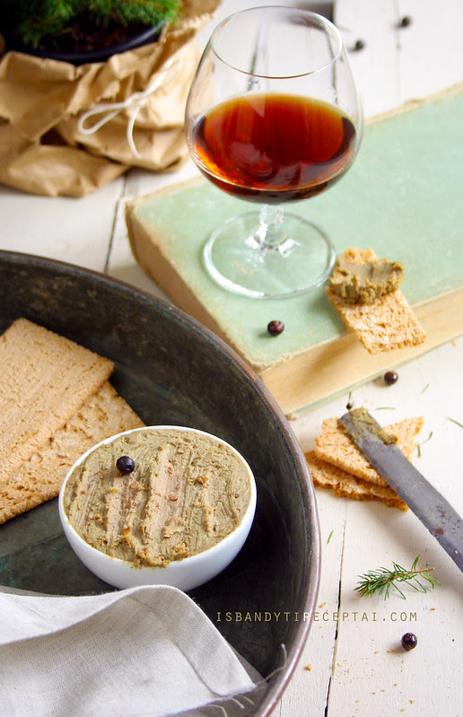 Chicken liver parfait with Porto wine