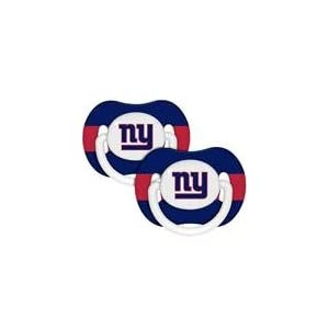 NFL New York Giants 2 Pack Pacifier