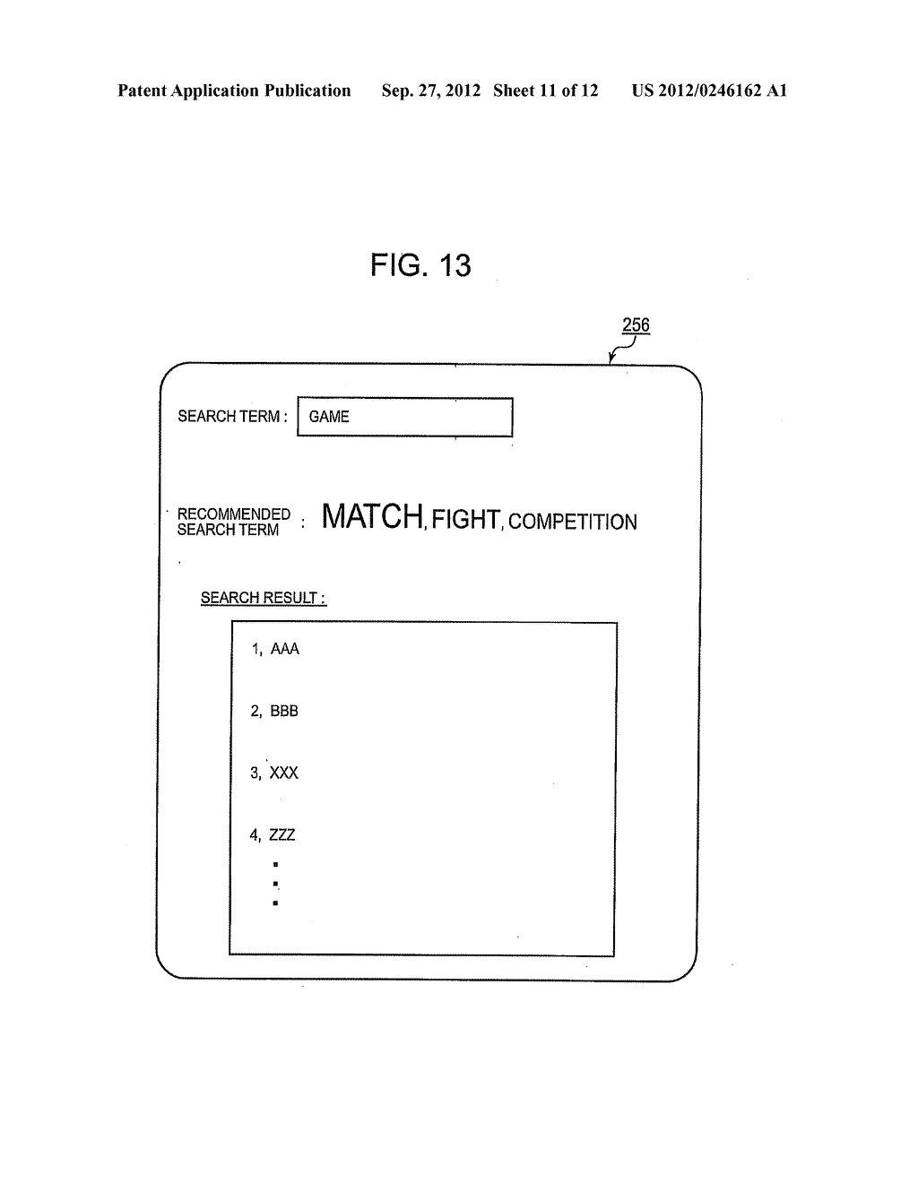 Method And Device For Generating A Similar Meaning Term List And Search Method And Device Using The Similar Meaning Term List Diagram Schematic And Image 12