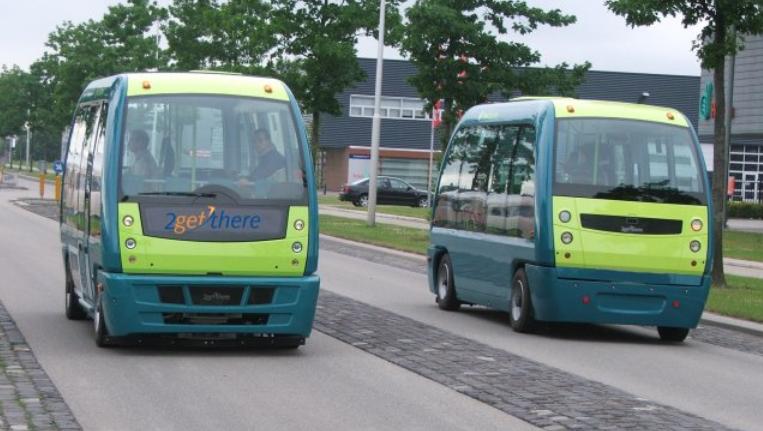 Снимка: Автобуси без шофьор