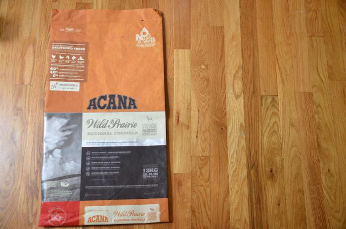 DIY Dog food tote bag