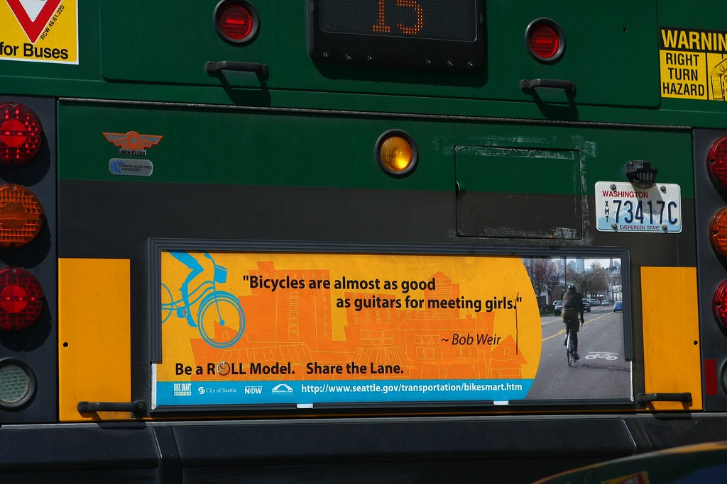 Rat Dog and Greatful Dead's Weir Quoted on Seattle Buses