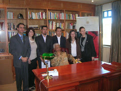Con Nelson Mandela