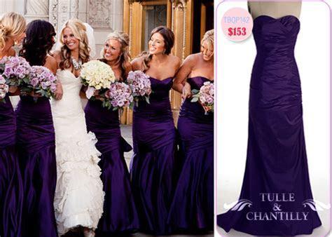Fabulous & Versatile: Purple Bridesmaid Dresses For Summer