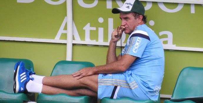 Cuca Palmeiras Atibaia (Foto: Rodrigo Faber)