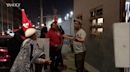 Defend Boyle Heights activists protest outside Dry River Brewing