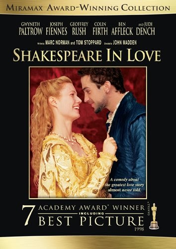 shakespeare in love movie review Playwright william shakespeare stumbles onto writer's block as he ponders over his next play entitled romeo and ethel, the pirate's daughter but as he falls in love with the beautiful.