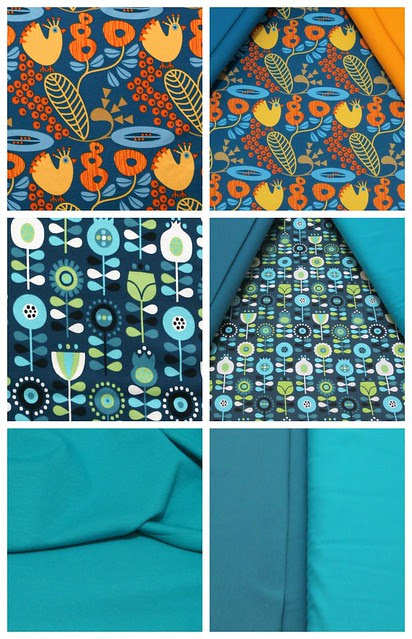 New fabric collage