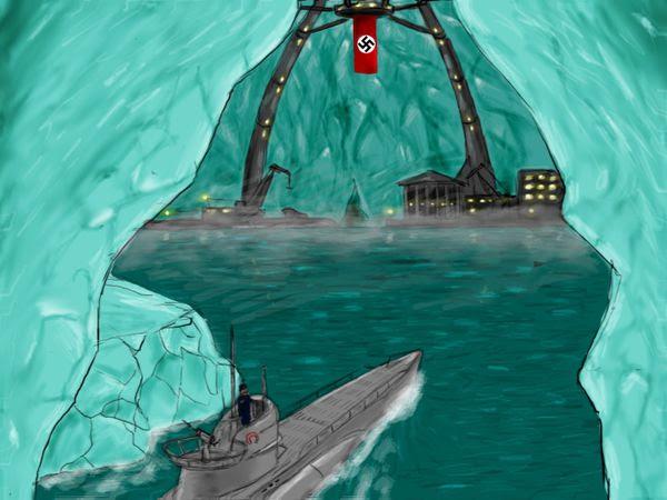 """Résultat de recherche d'images pour """"ovni antarctique"""""""