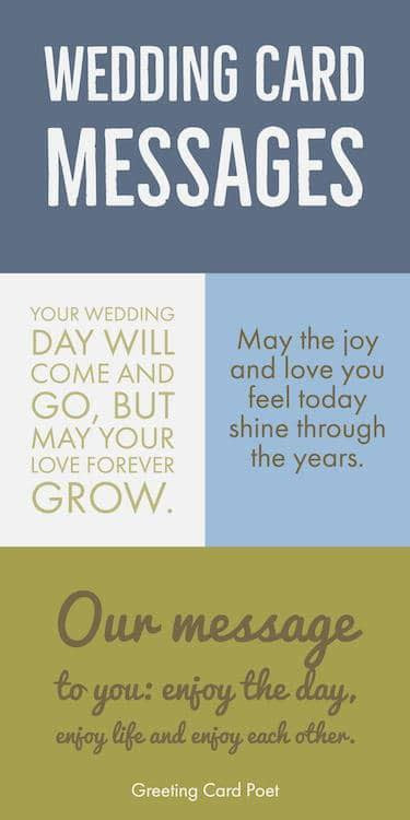 Wedding Card Messages   Wishes and Quotes   What To Write