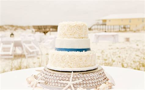 Beach Wedding Cake Ideas   Big Day Weddings