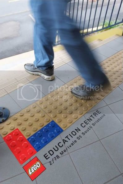 Lego Education Centre: Pavement