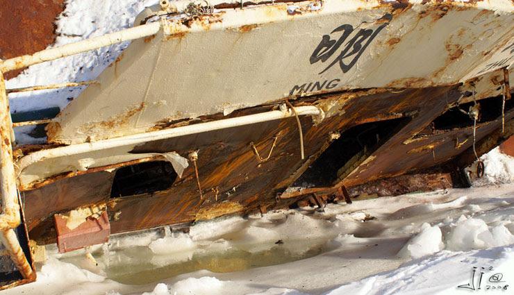 abandoned ships in  kamchatka, Russia 6
