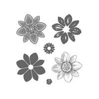 Petal Potpourri Clear Stamp Set