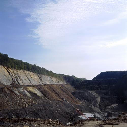 Mining the Mammoth Vein, Girard Coal Company, Girardville PA.