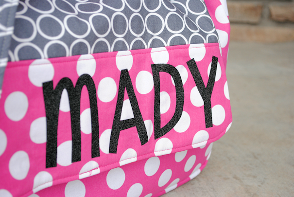 Personalized Kids Messenger Bag Tuutorial