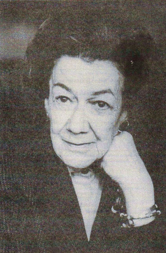 Ana Aslan (romania) - She Is Considered To Be A Pioneer Of Gerontology And Geriatrics.