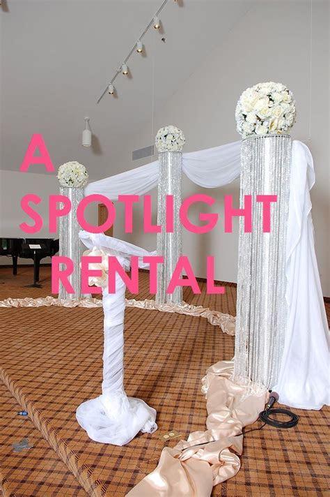 17 best Ceremony Wedding Event Crystal Columns Decoration