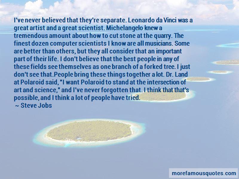Leonardo Da Vinci Art And Science Quotes Top 4 Quotes About