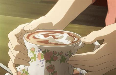 anime coffee gif  gif images