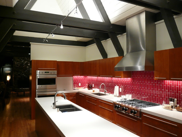 modern kitchen by Klopf Architecture