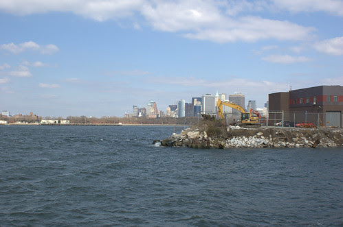 Governor's Island, Downtown Manhattan, and ATF Pier