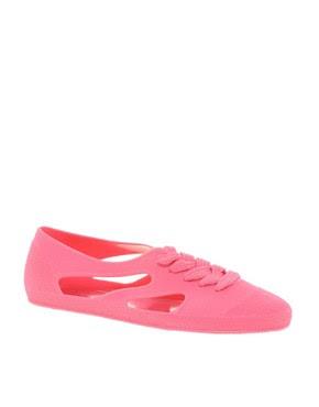 Image 1 ofF-Troupe Jelly Bathing Flat Shoes