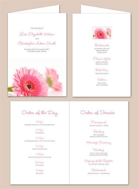order of service civil ceremony template   Google Search