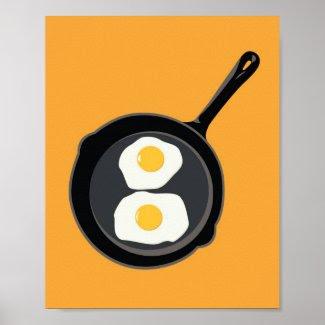 Eggs print print