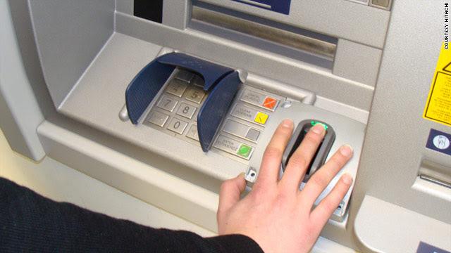 Biometric ATM gives cash via 'finger vein' scan