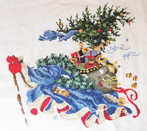 Windswept Santa