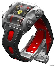 New Luxury 'Scuderia One' Ferrari Watch By Cabestan - Only For Ferrari Owners