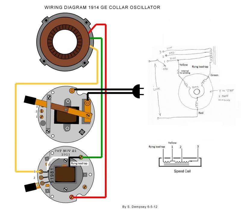 antique fan wiring diagram image 2