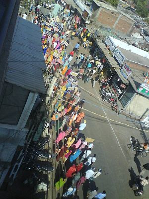 English: A protest rally against DOW, in Bhopa...