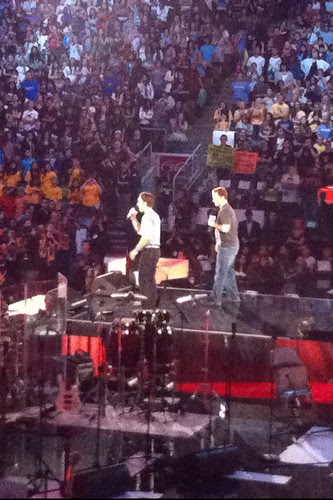 Craig and Marc Kielburger, We Day 2011