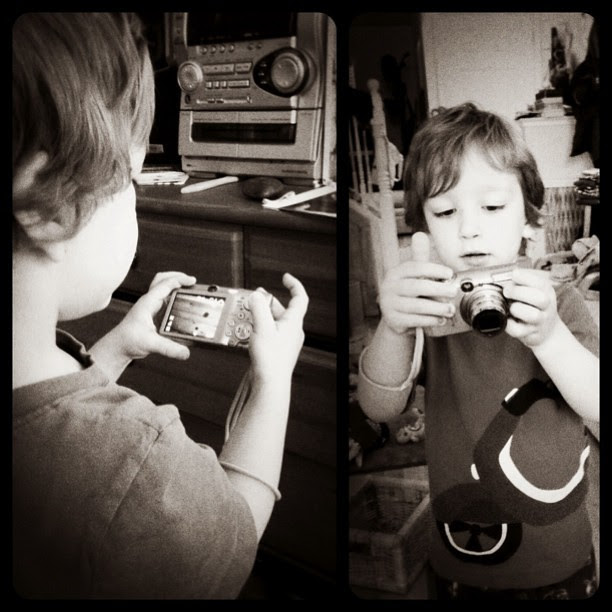 Budding photographer? ; )