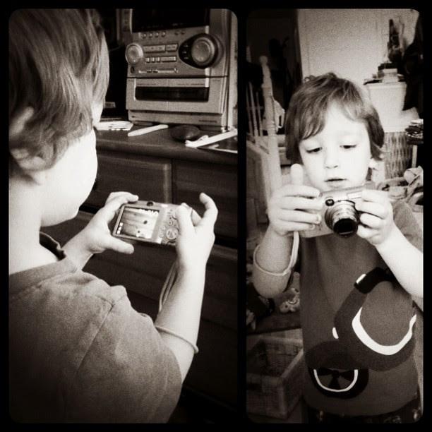 Budding photographer? ; )