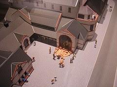 Model of Manx Museum, Peel