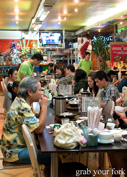 Inside Hai Au Lang Nuong Canley Vale