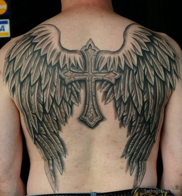 Cross Wings Tattoo Tattoo Designs Tattoo Pictures