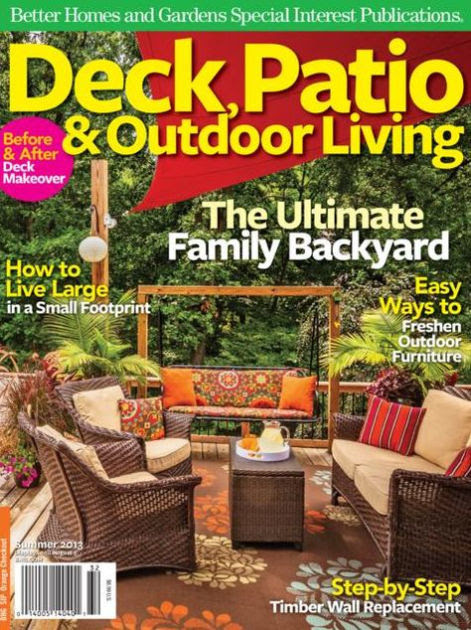 Better Homes And Gardens Deck Patio And Outdoor Living Summer
