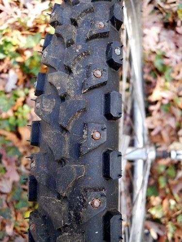 Studded Mountain Bike Bicycle Tire