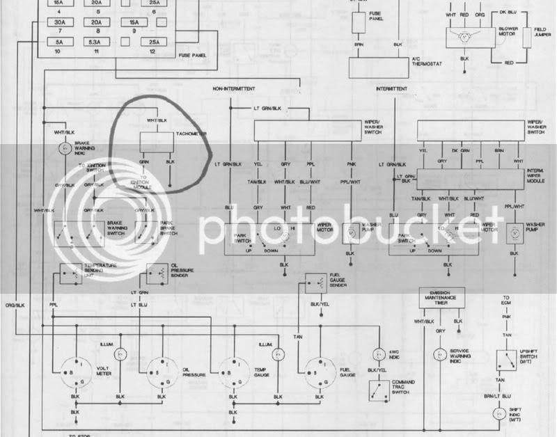 1987 jeep yj wiring diagram schematic image 7