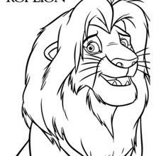 Dibujos Para Colorear Simba El Rey León Eshellokidscom