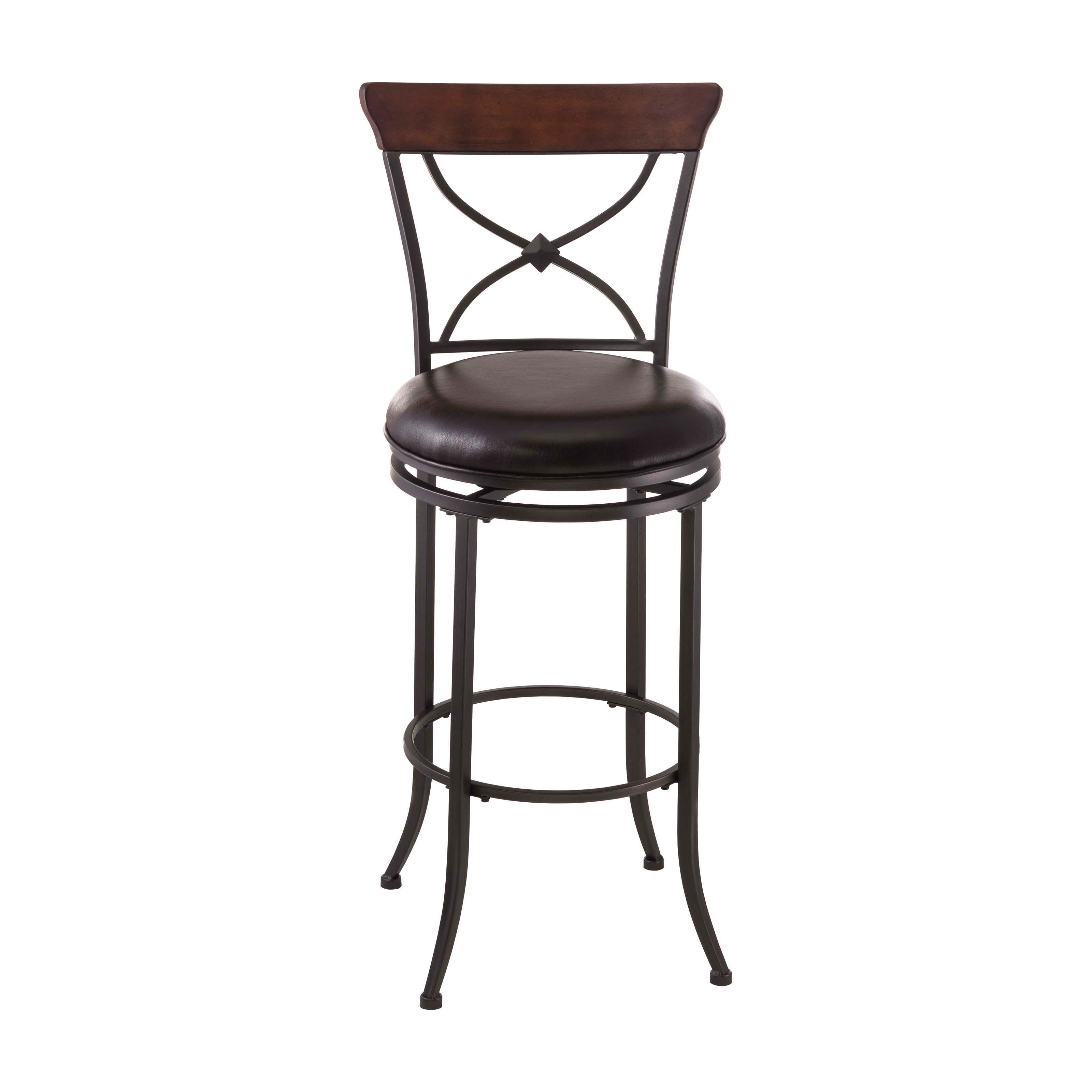 Brilliant Bar Stool Burda Kitchen Counter Breakfast Stool Padded Faux Ibusinesslaw Wood Chair Design Ideas Ibusinesslaworg