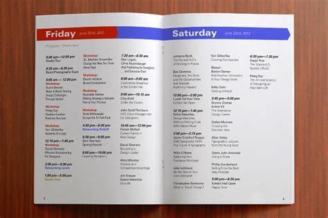 HOW Design Live Program Book   Clark Graphics