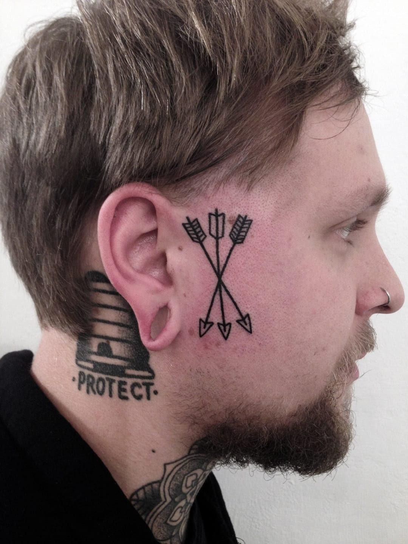 19 Increíbles Ideas De Tatuajes Que Te Podrías Hacer En La Cara
